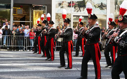 2010 Columbus dzień nyc parada Fotografia Royalty Free