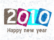 2010 Concept. Vector illustration of new year concept 2010 Royalty Free Stock Images