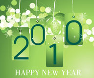 2010 Concept. Vector illustration of new year concept 2010 Stock Image