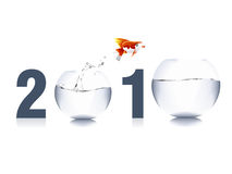 2010 Concept. Vector illustration of new year concept 2010 Royalty Free Stock Photo