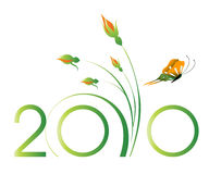 2010 Concept. Vector illustration of new year concept 2010 Stock Images