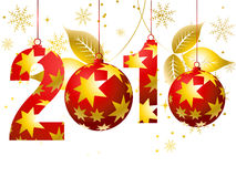 2010 Concept. Vector illustration of new year concept 2010 Stock Photo