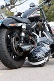 2010 construyeron Harley Davidson Sportster 883R Fotos de archivo libres de regalías