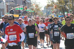 2010 corridori di maratona di NYC Immagine Stock Libera da Diritti