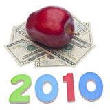 2010 Cost of Health Care or Education Royalty Free Stock Images