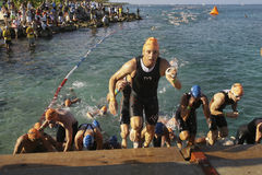 2010 Cozumel's Iron Man Stock Image