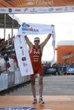2010 Cozumel's Iron Man. 28 November 2010. Cozumel's Iron Man winner Andy Potts Royalty Free Stock Photos