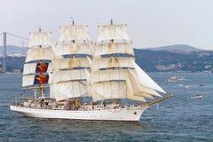 2010 dar mlodziezy regatta wysyła wysokiego Zdjęcia Royalty Free