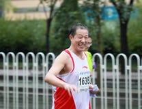 2010 de Internationale Marathon van Peking royalty-vrije stock foto's