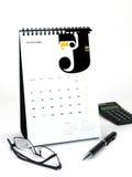 2010 de Kalender van het Bureau Stock Foto
