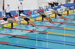 2010 De pływanie Edf otwarty Paris fotografia royalty free