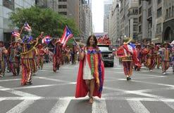 2010 de Parade van de Dag van het Puerto Ricaan Royalty-vrije Stock Fotografie