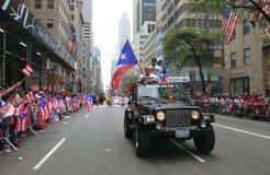 2010 de Parade van de Dag van het Puerto Ricaan Royalty-vrije Stock Foto