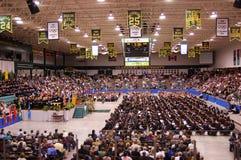 2010 de remise des diplômes d'université de Clarkson Images libres de droits