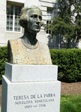 2010 De rzeźba Los angeles Parra Teresa Washington Zdjęcia Royalty Free