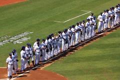 2010 de Spelen van MLB Taiwan Stock Foto's