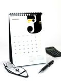 2010 Desk Calendar Stock Photo