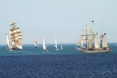 2010 dziejowych regatta morzy statków wysokich fotografia royalty free