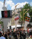 2010 ecmp homoseksualna Paris duma Obraz Royalty Free