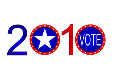 2010 Election. A design for the 2010 midterm elections Stock Photography