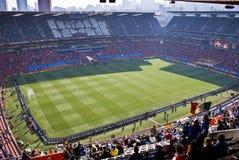 2010 ellis fifa parkerar stadionwc Arkivbild