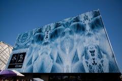 2010 expo Iceland pawilon Shanghai obraz royalty free