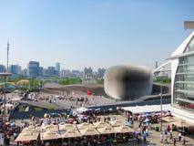 2010 expo królestwa pawilon Shanghai jednoczący obraz royalty free