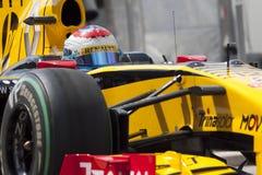 2010 f1 obwód ulica Valencia Zdjęcie Stock