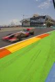 2010 f1 obwód ulica Valencia Zdjęcia Stock