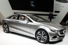 2010 f800 Geneva Mercedes motorowego przedstawienie styl Fotografia Royalty Free