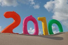 2010 feliz Imagen de archivo libre de regalías