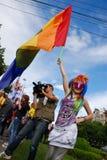 2010 fest homoseksualnej parady uczestników Obraz Royalty Free
