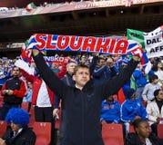 2010 FIFA Ιταλία Σλοβακία εναντί&o Στοκ Εικόνες