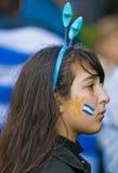 2010 filiżanek Montevideo Uruguay świat Obrazy Royalty Free
