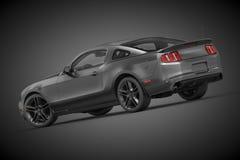 2010年Ford Mustang 免版税库存照片