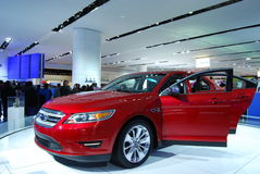 2010 Ford Taurus Display Stock Images