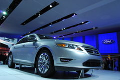 2010 Ford Taurus Display Royalty Free Stock Images
