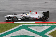 2010 Formula 1 - Malaysian Grand Prix 02. Team: BMW Sauber Stock Image