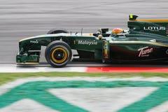2010 Formula 1 - Malaysian Grand Prix 03. Team: Lotus Stock Photos