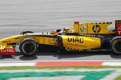 2010 Formula 1 - Malaysian Grand Prix 05. Team: Renault Royalty Free Stock Photo
