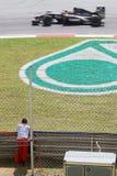 2010 Formula 1 - Malaysian Grand Prix 06. Team: HRT Royalty Free Stock Photos