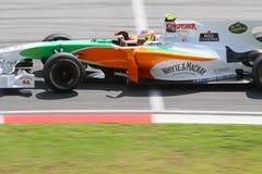 2010 Formula 1 - Malaysian Grand Prix 07. Team: Force India Royalty Free Stock Photo