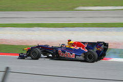2010 Formula 1 - Malaysian Grand Prix 08. Team: Red Bull Stock Image