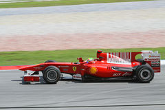 2010 Formula 1 - Malaysian Grand Prix 09. Team: Ferrari Royalty Free Stock Photo