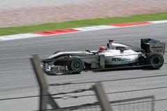 2010 Formula 1 - Malaysian Grand Prix 10. Team: Mercedes GP Royalty Free Stock Photos