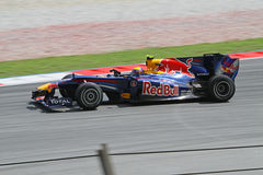 2010 Formula 1 - Malaysian Grand Prix 12. Team: Red Bull Royalty Free Stock Photography
