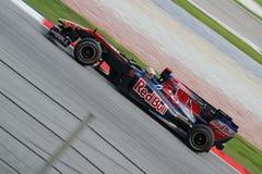 2010 Formula 1 - Malaysian Grand Prix 16. Team: Toro Rosso Stock Images