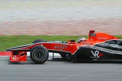 2010 Formula 1 - Malaysian Grand Prix 17. Team: Virgin Royalty Free Stock Image