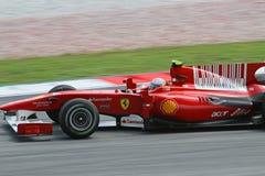 2010 Formula 1 - Malaysian Grand Prix 19. Team: Ferrari Royalty Free Stock Photos