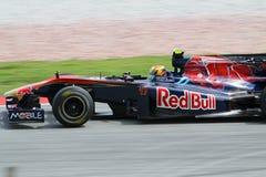 2010 Formula 1 - Malaysian Grand Prix 20. Team: Toro Rosso Stock Image